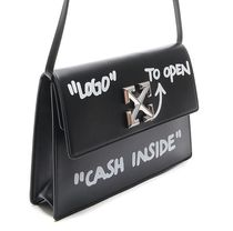 Off-White Street Style Leather Shoulder Bags
