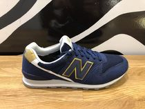 New Balance 996 Rubber Sole Casual Style Faux Fur Street Style Plain Logo