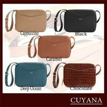 CUYANA Casual Style Plain Other Animal Patterns Leather