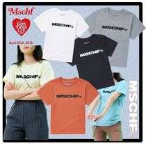 MISCHIEF Street Style Short Sleeves T-Shirts