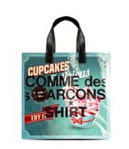 COMME des GARCONS Casual Style A4 Logo Totes