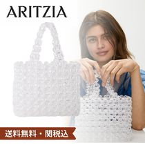 Aritzia Monogram Casual Style Street Style Plain Crystal Clear Bags