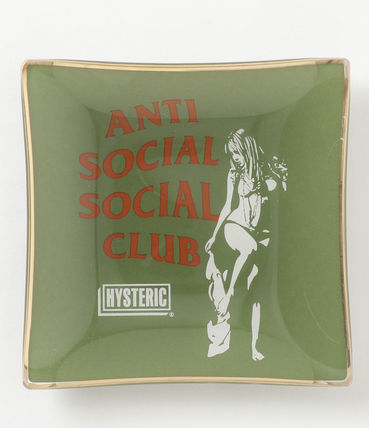 ANTI SOCIAL SOCIAL CLUB Street Style Collaboration Watches & Jewelry