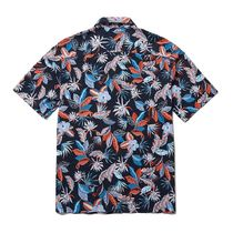 THE NORTH FACE Flower Patterns Short Sleeves Logo Shirts