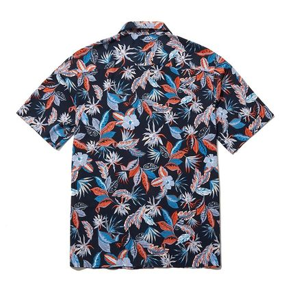 THE NORTH FACE Shirts Flower Patterns Short Sleeves Logo Outdoor Shirts 2