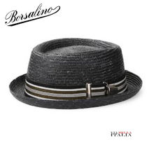 Borsalino Handmade Straw Boaters Straw Hats