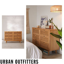 Urban Outfitters Unisex Wooden Furniture Rattan Furniture