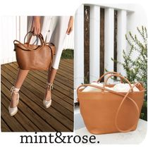mint&rose. Leather Totes