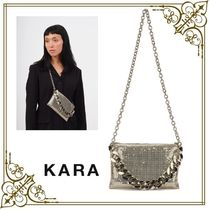KARA Casual Style 2WAY Chain Office Style Crossbody Shoulder Bags