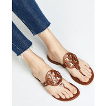 Tory Burch MILLER Casual Style Street Style Leather Sandals Sandal