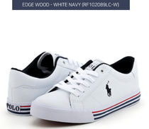 POLO RALPH LAUREN Casual Style Street Style Plain Logo Low-Top Sneakers