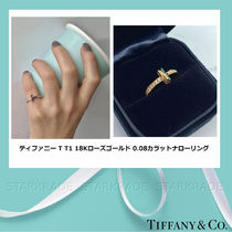 Tiffany & Co Tiffany T 18K Gold Fine
