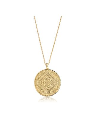 Casual Style Coin Party Style Silver 18K Gold Office Style