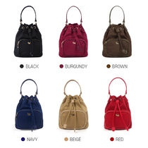 Agatha Casual Style Unisex 2WAY Office Style Shoulder Bags