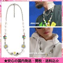 Flower Patterns Street Style Chain Necklaces & Chokers