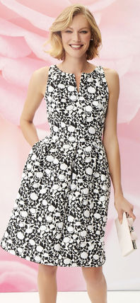 Formal Style  Bridal Crew Neck Flower Patterns Sleeveless