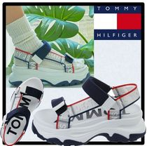 Tommy Hilfiger Casual Style Street Style Sport Sandals Flip Flops