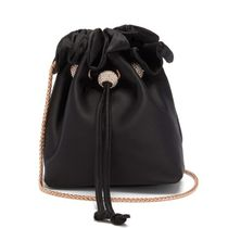 SOPHIA WEBSTER Plain Purses Crossbody Bucket Bags