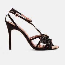 TED BAKER Open Toe Pin Heels Sandals Sandal