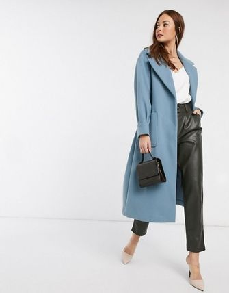 ASOS Casual Style Plain Medium Office Style Coats