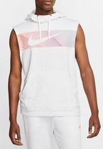 Nike Pullovers Sleeveless Street Style Logo Vests & Gillets