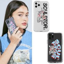 SCULPTOR Unisex Street Style Plain Other Animal Patterns iPhone 8