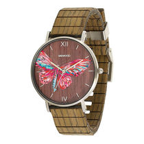 WeWOOD Casual Style Round Quartz Watches Analog Watches