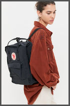 FJALLRAVEN Casual Style A4 Plain PVC Clothing Logo Backpacks