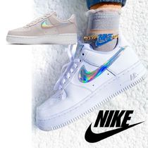 Nike AIR FORCE 1 Casual Style Street Style Leather Office Style Logo