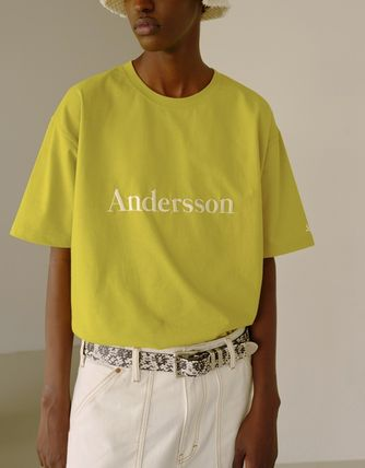 ANDERSSON BELL More T-Shirts Unisex Street Style Cotton Short Sleeves Oversized T-Shirts 7