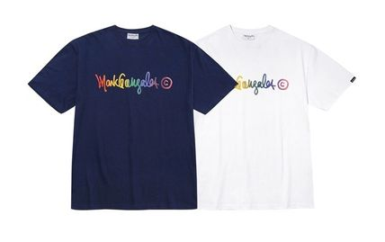 Mark Gonzales Unisex Street Style Cotton Short Sleeves T-Shirts