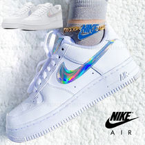 Nike AIR FORCE 1 Casual Style Street Style Logo Low-Top Sneakers