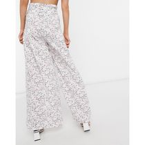 ASOS Printed Pants Flower Patterns Casual Style Street Style Long