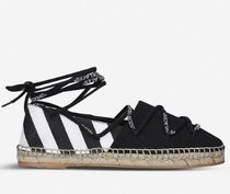 Off-White Casual Style Street Style Plain Slip-On Shoes