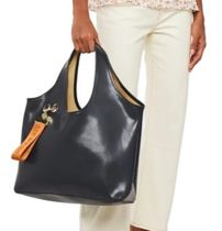 See by Chloe Casual Style Plain Leather Elegant Style Formal Style  Totes