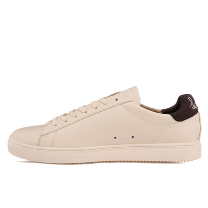 Plain Logo Low-Top Sneakers