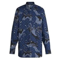 Louis Vuitton MONOGRAM Camouflage Monogram Long Sleeves Cotton Logo Shirts