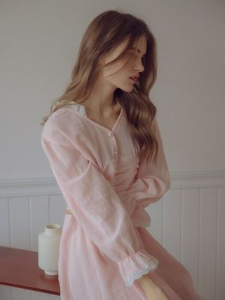 Plain Cotton Loungewear Lounge & Sleepwear