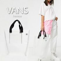 VANS Casual Style Street Style Plain Purses Crystal Clear Bags