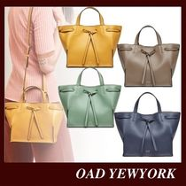OAD NEW YORK Casual Style Suede 2WAY Plain Leather Party Style