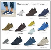 allbirds Runners Round Toe Casual Style Plain Low-Top Sneakers
