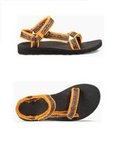 Teva Open Toe Round Toe Rubber Sole Casual Style Blended Fabrics