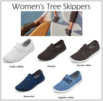 allbirds Skippers Round Toe Casual Style Plain Low-Top Sneakers