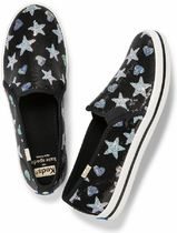 kate spade new york Star Collaboration Leather Low-Top Sneakers