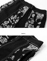 More Jeans Printed Pants Paisley Denim Street Style Plain Cotton 20