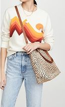 Madewell Office Style Elegant Style Logo Shoulder Bags