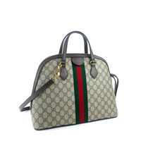GUCCI Ophidia Monogram Casual Style Blended Fabrics 2WAY Leather