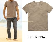 Outer known Pullovers Street Style Cotton Short Sleeves Oversized