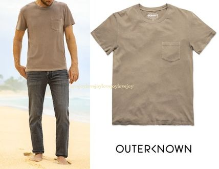 Outer known More T-Shirts Pullovers Street Style Cotton Short Sleeves Oversized