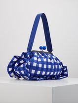 Weekend Max Mara Gingham Casual Style Canvas 2WAY Party Style Elegant Style